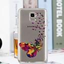 abordables Coques / Etuis pour Galaxy Série J-Coque Pour Samsung Galaxy J6 / J4 Transparente / Motif Coque Papillon Flexible TPU pour J7 (2017) / J6 / J5 (2017)