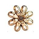 ieftine Broșe-Pentru femei Broșe Floare femei Stilat Clasic Broșă Bijuterii Auriu Argintiu Pentru Zilnic