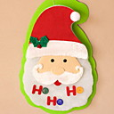 cheap Home Decoration-Christmas Ornaments Holiday Plastic / PVC Square Novelty Christmas Decoration