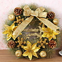 cheap Home Decoration-Garlands Holiday Wooden Round Wooden Christmas Decoration