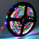 preiswerte LED Lichtstreifen-5m Flexible LED-Leuchtstreifen 300 LEDs 3528 SMD RGB Schneidbar / Verbindbar / Selbstklebend 12 V 1pc