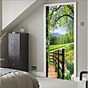 halpa Sisustustarrat-Koriste-seinätarrat - 3D-seinätarrat Asetelma / 3D Makuuhuone / Sisällä