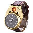 ieftine Cercei-Bărbați Ceas de Mână Japoneză Quartz Piele PU Matlasată Negru / Maro Cronograf Creative Model nou Analog Atârnat Modă - Auriu Negru Argintiu Doi ani Durată de Viaţă Baterie