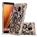 رخيصةأون Huawei أغطية / كفرات-غطاء من أجل Samsung Galaxy A6 (2018) / A6+ (2018) / A8 2018 نموذج غطاء خلفي الطباعة الدانتيل ناعم TPU