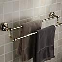 billige Badeværelsesartikler-Håndklædestang Nyt Design / Sej Moderne Messing 1pc Dobbelt Vægmonteret