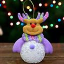 رخيصةأون تزيين المنزل-تماثيل الكريسمس عطلة نسيج القطن مربع كارتون / حداثة زينة عيد الميلاد