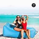 hesapli Diğer Açık Hava Donanımları-21Grams Hava Koltuğu Şişme Koltuk Şişme Yatak     Dış mekan Bahar Yaz Sonbahar Su Geçirmez Taşınabilir Hızlı Şişme Tasarım-İdeal Kanepe Naylon Kamp & Yürüyüş Kumsal Kamp