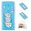 cheap Samsung Tab Series Cases / Covers-Case For Sony Xperia XZ2 Compact / Xperia L2 Transparent / Pattern Back Cover Unicorn Soft TPU for Xperia XA2 Ultra / Xperia XA2