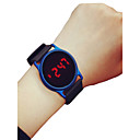 cheap Headsets & Headphones-Men's Women's Sport Watch Wrist Watch Digital 30 m Chronograph LCD Casual Watch Silicone Band Digital Casual Minimalist Black / Blue / Rose - Black / Blue Black / Rose Red Black / Silver Two Years