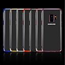 رخيصةأون حافظات / جرابات هواتف جالكسي J-غطاء من أجل Samsung Galaxy J7 Prime / J7 (2017) / J7 (2016) تصفيح / شفاف غطاء خلفي لون سادة ناعم TPU