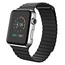 halpa Kellohihnat-Vasikankarva Watch Band Hihna varten Apple Watch Series 3 / 2 / 1 Musta / Sininen / Ruskea 23cm / 9 Tuumaa 2.1cm / 0.83 tuumaa