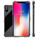 cheap iPhone Cases-Case For Apple iPhone XR / iPhone XS Max Shockproof / Transparent Back Cover Solid Colored Soft TPU for iPhone XS / iPhone XR / iPhone XS Max