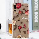 cheap Makeup & Nail Care-Case For Huawei P20 Pro / P20 lite Transparent / Pattern Back Cover Flower Soft TPU for Huawei P20 / Huawei P20 Pro / Huawei P20 lite