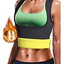 hesapli Fitness Aksesuarları-Vücut şekillendirici / Sıcak Ter Egzersiz Tank Top Zayıflama Yelek / Şekillendirici İle Neopren Fermuarsız Kilo kaybı, Karın Yağ Yakıcı, Bel eğitmen İçin Kadın's Yoga / Fitness / Jimnastik