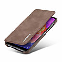 cheap Cases / Covers for Huawei-Case For Huawei P20 / P20 Pro / P20 lite Wallet / Card Holder / Shockproof Full Body Cases Solid Colored Hard PU Leather for Huawei P20 / Huawei P20 Pro / Huawei P20 lite