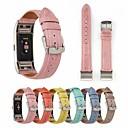 저렴한 Fitbit 밴드 시계-시계 밴드 용 Fitbit Charge 2 핏빗 가죽 루프 천연 가죽 손목 스트랩