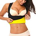 ieftine Accesorii Fitness-Body Shaper Hot Sweat antrenament Tank Top Slimming Vest Îmbrăcăminte modelare corporală Elastan Elastic Fără fermoar Pierdere în greutate Tummy Fat Burner Tonifiere Abdominală Yoga Fitness