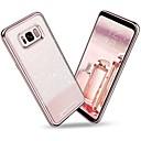levne Galaxy S pouzdra / obaly-BENTOBEN Carcasă Pro Samsung Galaxy S8 Plus / S8 Galvanizované / Ultra tenké / Třpytivý Zadní kryt Jednobarevné Měkké TPU / PC pro S8 Plus / S8