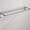 billige Herreklokker-Håndklestang Nytt Design Moderne Rustfritt Stål 1pc Dobbel Vægmonteret