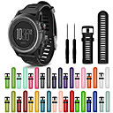 cheap Kitchen Storage-Watch Band for Fenix 3 HR Garmin Sport Band Silicone Wrist Strap