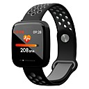 cheap Smart Plug-JSBP YY-F15 Men Smart Bracelet Smartwatch Android iOS Bluetooth Sports Waterproof Heart Rate Monitor Blood Pressure Measurement Touch Screen Pedometer Call Reminder Activity Tracker Sleep Tracker