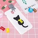 رخيصةأون حافظات / جرابات هواتف جالكسي J-غطاء من أجل Samsung Galaxy J7 (2017) / J7 (2016) / J6 نموذج / اصنع بنفسك غطاء خلفي قطة ناعم TPU