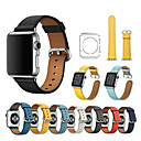 cheap Apple Watch Bands-Watch Band for Apple Watch Series 3 / 2 / 1 Apple Sport Band Genuine Leather Wrist Strap