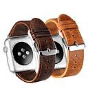 hesapli Kendin-Yap Setleri-Watch Band için Apple Watch Series 4/3/2/1 Apple Deri Döngü Gerçek Deri Bilek Askısı