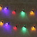 cheap LED Corn Lights-5m String Lights 40 LEDs Warm White / White / Multi Color New Design / Decorative / Cool 220-240 V 1 set