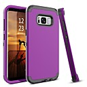 cheap Galaxy J Series Cases / Covers-BENTOBEN Case For Samsung Galaxy S8 Plus / S8 Shockproof Full Body Cases Solid Colored Hard TPU / PC for S8 Plus / S8