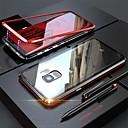 Недорогие Чехлы и кейсы для Galaxy S6-Кейс для Назначение SSamsung Galaxy Note 9 / Note 8 Прозрачный Чехол Однотонный Твердый Закаленное стекло / Металл
