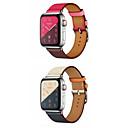 Χαμηλού Κόστους Μπρασελέ για ρολόγια Apple-Παρακολουθήστε Band για Apple Watch Series 4/3/2/1 Apple Δερμάτινη Πλέξη Γνήσιο δέρμα Λουράκι Καρπού