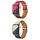 halpa Apple Watch-hihnat-Watch Band varten Apple Watch Series 4/3/2/1 Apple Nahkahihna Aito nahka Rannehihna