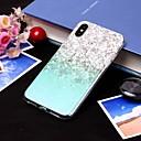 رخيصةأون أقراط-غطاء من أجل Apple iPhone XS / iPhone XR / iPhone XS Max IMD / شبه شفّاف غطاء خلفي منظر ناعم TPU
