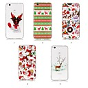 cheap Cases / Covers for Huawei-Case For Huawei P20 Pro / P20 lite IMD / Pattern Back Cover Christmas Soft TPU for Huawei P20 / Huawei P20 Pro / Huawei P20 lite
