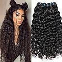 hesapli Makyaj ve Tırnak Bakımı-4 Paket Hintli Saçı Vietnamlı Saçı Su Vanası 8A Gerçek Saç İşlenmemiş Gerçek Saç Hediyelikler Cosplay Takımları İnsan saç örgüleri 8-28 inç Doğal Renk İnsan saç örgüleri Yumuşak Yeni gelen Kalın