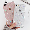 cheap iPhone Cases-Case For Apple iPhone X / iPhone XS Shockproof / Translucent Back Cover Heart / Cartoon Soft TPU for iPhone XS / iPhone X / iPhone 8 Plus