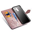 رخيصةأون Huawei أغطية / كفرات-غطاء من أجل Samsung Galaxy A6 (2018) / A6+ (2018) / A5 (2017) محفظة / حامل البطاقات / مع حامل غطاء كامل للجسم ماندالا نمط قاسي جلد PU