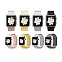 abordables Vêtements & Accessoires pour Chien-Bracelet de Montre  pour Apple Watch Series 4/3/2/1 Apple Boucle Classique Acier Inoxydable Sangle de Poignet