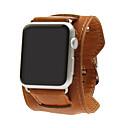 Недорогие Ремешки для Apple Watch-Ремешок для часов для Apple Watch Series 4/3/2/1 Apple Классическая застежка Натуральная кожа Повязка на запястье