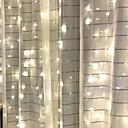 ieftine Benzi Lumină LED-4m Fâșii de Iluminat 84 LED-uri Alb Cald Decorativ 220-240 V 1set