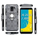 cheap Galaxy J Series Cases / Covers-Case For Samsung Galaxy J2 PRO 2018 Shockproof / Ring Holder Back Cover Armor Soft TPU for J8 (2018) / J7 (2018) / J6 (2018)