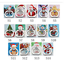 cheap Phone Mounts & Holders-Desk Mount Stand Holder Christmas Santa Claus Phone Holder Adjustable / 360°Rotation ABS Holder
