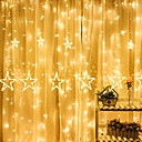 cheap LED String Lights-4m String Lights 138 LEDs Warm White Decorative 220-240 V 1 set