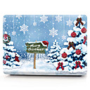 cheap Mac Cases & Mac Bags & Mac Sleeves-MacBook Case Oil Painting Tree / Christmas PVC for Air Pro Retina 11 12 13 15 Laptop Cover Case for Macbook New Pro 13.3 15 inch with Touch Bar