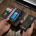 お買い得  Galaxy S シリーズ ケース/カバー-CaseMe ケース 用途 Samsung Galaxy S7 ウォレット / カードホルダー / スタンド付き フルボディーケース ソリッド ハード PUレザー のために S7
