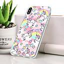 voordelige Galaxy S-serie hoesjes / covers-hoesje Voor Apple iPhone XS Stofbestendig / Ultradun / Patroon Achterkant dier Zacht TPU voor iPhone XS