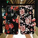 tanie Etui / Pokrowce do Samsunga Galaxy S-Kılıf Na Samsung Galaxy S9 Plus / S9 Matowa / Wytłaczany wzór / Wzór Osłona tylna Kwiat Miękka TPU na S9 / S9 Plus / S8 Plus