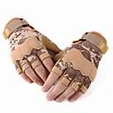cheap Bakeware-Half-finger Men's Motorcycle Gloves Leather Wearproof / Protective / Non Slip