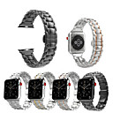 levne Apple Watch držáky a úchyty-Watch kapela pro Apple Watch Series 4/3/2/1 Apple Sportovní značka Nerez Poutko na zápěstí
